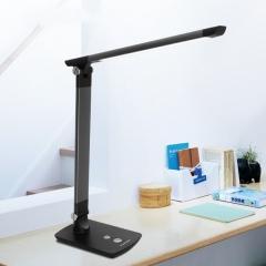 松下(Panasonic)国A级减蓝光护眼台灯无极调光调色工作阅读学习台灯致醒系列HHLT0614 深灰色
