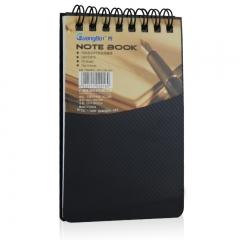广博(GuangBo)10本装便签笔记本子100K76张笔记本PP线圈本颜色随机GB100815