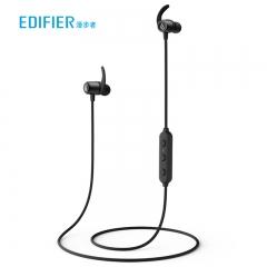 漫步者(EDIFIER)W280BT 磁吸入耳式  无线蓝牙线控耳机 手机耳机  可通话 超长续航  黑色