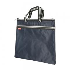 晨光(M&G)文具双色提花手提会议包 防水事务包 商务公文拉链袋 资料袋文件袋 单个装ABB93097