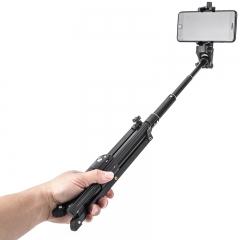 云腾VT-1808手机手持自拍杆三脚架自拍架迷你便携旅行遥控直播三角支架微单神器