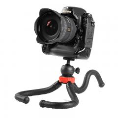 miliboo MZ02八爪鱼三脚架手机单反迷你直播三脚架 微距拍摄微单支架 便携式户外