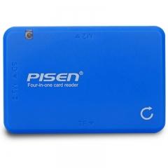 品胜(PISEN) 多功能读卡器4合1 支持单反/数码相机/内存卡/手机TF M2 MS SD卡多合一读卡器