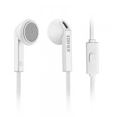 漫步者(EDIFIER) H190P 手机耳机 手机耳塞 可通话 时尚白