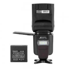 捷宝(TRIOPO)L870Ⅱ 佳能 尼康 单反相机  通用型 闪光灯 自动测光带TTL锂电池 热靴闪光灯 机顶闪光灯