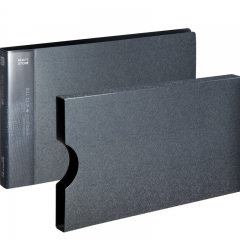 齐心(Comix) A611 美石系财务增值税发票夹/票据夹/单据文件夹 配外壳 银钨
