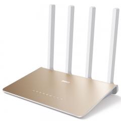 360安全路由器P3G千兆宽带1200M高速双频wifi信号放大 1GHz大CPU别墅级穿墙 智能无线路由器(光纤大宽带版)