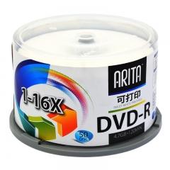 铼德(ARITA) e时代可打印 DVD-R 16速4.7G 空白光盘/光碟/刻录盘 桶装50片