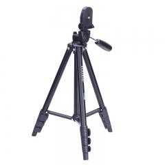 云腾(YUNTENG) VT-368 精品便携三脚架+云台 微单数码相机摄像机自拍旅行用 优质铝合金超轻三角架黑色
