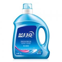 蓝月亮洗衣液12斤套装:亮白增艳薰衣草3kg瓶+1kg袋*3