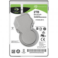 希捷(Seagate)2TB 128MB 5400RPM 2.5英寸笔记本硬盘 SATA接口 希捷酷鱼BarraCuda系列(ST2000LM015)
