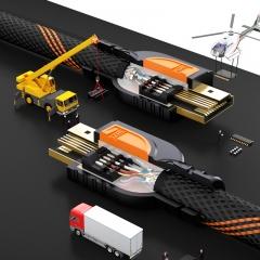 山泽(SAMZHE)HDMI线2.0版4K数字高清线 3D视频线工程1.5米笔记本电脑电视投影仪显示器机顶盒连接线SM-8015