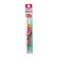 晨光(M&G)文具G-5红色0.5mm按动子弹头中性笔芯签字笔水笔替芯 20支/盒