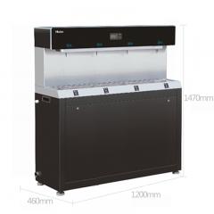 海尔(Haier)商用净水器纯水机 立式反渗透饮水机 加热型商务净饮机HZR400-4W