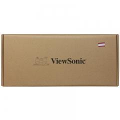 优派(ViewSonic)KU520机械键盘 有线键盘 游戏键盘 87键单光 吃鸡键盘 电脑键盘 黑色 黑轴