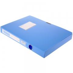 三木(SUNWOOD) A4/35mm标准型档案盒 蓝色 24只装