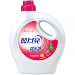 蓝月亮 丝毛净 羊毛衫洗涤剂 真丝羊毛洗衣液500g/瓶