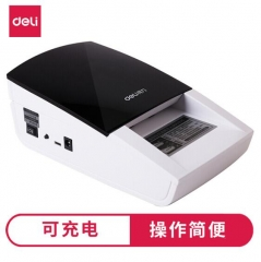 得力(deli)2119新版人民币充电验钞机 便携式验钞机 语音验钞 USB升级