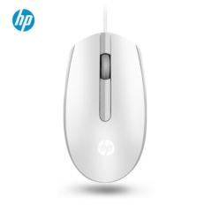 惠普(HP)M10有线鼠标 USB光学便携台式机电脑游戏笔记本办公鼠标 1000DPI  白色