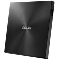 华硕(ASUS) 8倍速 外置DVD刻录机 移动光驱 支持USB/Type-C接口 (兼容苹果系统/SDRW-08U9M-U)-黑色