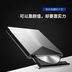 绿巨能(llano)LJN-KLJ008笔记本外置移动光驱 CD/DVD刻录机 USB3.0高速外接刻录机光驱 台式笔记本电脑通用超薄光驱