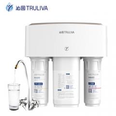 沁园(TRULIVA)家用净水器 即滤型 低废水 反渗透RO膜过滤直饮机 KRT3820