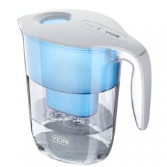 云米(VIOMI)过滤净水器 家用直饮净水壶 滤水壶  自来水过滤器 除余氯水垢重金属 一壶一芯