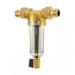 霍尼韦尔(Honeywell)家用中央前置过滤器 大流量 管道过滤 净水器 FF06-3/4AA