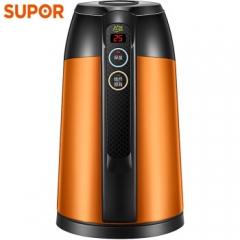苏泊尔(SUPOR)电水壶热水壶保温电热水壶全钢无缝电子调温 SWF17E16A 304不锈钢烧水壶