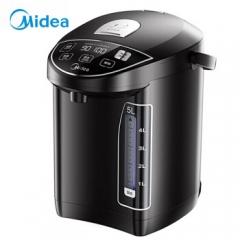 美的(Midea)电热水瓶热水壶电水壶304不锈钢水壶热水瓶5L十段温控电水壶双层防烫烧水壶MK-SP50Power302