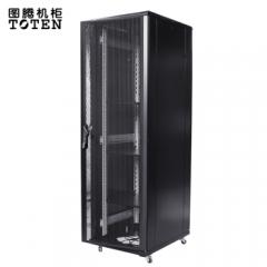 图腾(TOTEN)G3.6047 带配件 网络机柜 服务器机柜 19英寸机柜 前后网孔门  机柜47U 深度1000