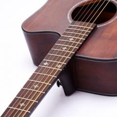 竹霖生 吉他 民谣单板吉他41寸缺角哑光