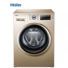海尔(Haier) 滚筒洗衣机全自动 10公斤变频  99%防霉抗菌窗垫EG10014B39GU1