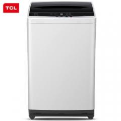 TCL 7公斤 全自动波轮洗衣机 一键脱水 24小时预约(宝石黑) XQB70-36SP
