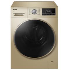 海尔(Haier)滚筒洗衣机全自动 高温蒸汽除螨 10KG纤维级防皱洗烘一体变频XQG100-14HB30GU1JD