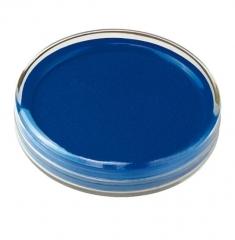 齐心(Comix)φ80mm圆形快干印台印泥 蓝色 B3716