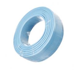 金山 电线电缆 国标阻燃单芯多股塑铜软线ZR-BVR16平方毫米 蓝 100米/盘