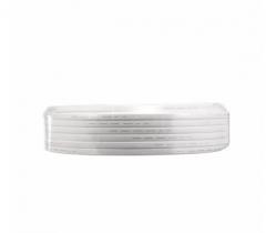 金山(JINSHAN)国标铜芯护套线 软护套线 电线 电缆 RVV2*2.5白100米/盘