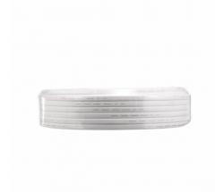 金山(JINSHAN)国标铜芯护套线 软护套线 电线 电缆 RVV3*4白100米/盘
