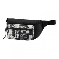 彪马(PUMA)包 运动包 腰包 PUMA Academy Waist Bag 胸包 斜挎包 075855 13 彪马白