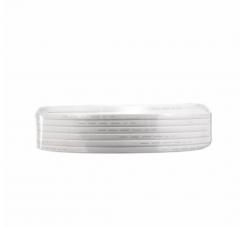 金山(JINSHAN)国标铜芯护套线 软护套线 电线 电缆 RVV2*1.5白100米/盘
