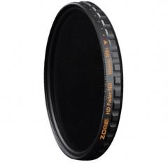 卓美 ZOMEI 高清超薄ND1000减光镜82mm 索尼富士微单镜头中灰密度镜佳能尼康单反相机滤镜