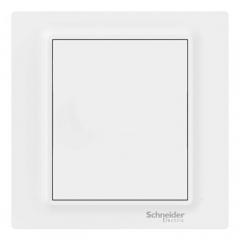 施耐德电气 开关插座面板 空白面板 白板 盖板 法式美学 歆意系列 白色 A3J30X_WE_C1
