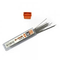 日本百乐(PILOT)自动铅笔芯/活动铅芯 0.5mm 2B替芯 48根装PL-5ENOG-48-2B原装进口