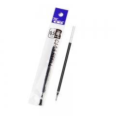 日本斑马牌(ZEBRA)C-RJAH5 中性笔芯 啫喱笔芯 水笔芯(适用JJ1 JJ4) 0.5mm黑色(10支装)