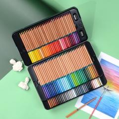 马可(MARCO)雷诺阿31系列 100色水溶性彩色铅笔/填色笔/美术专业设计手绘水彩彩铅 铁盒套装3120-100TN
