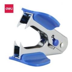 得力(deli)12#高效便捷起钉器 带安全锁 办公用品 蓝色0231