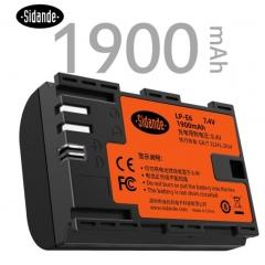 斯丹德(sidande)LP-E6 相机电池 用于佳能EOS 7D2 6D2 5D2 5D3 5D4 6D 60D 70D 80D 5DSR单反可充电锂电池