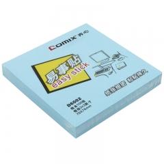 齐心(COMIX)D6002 便利贴/便签纸/便签本/易事贴/百事贴(76x76mm)12本 颜色随机