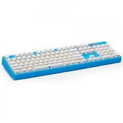 影级(iNSIST)Designer 104键侧刻机械键盘 Cherry樱桃青轴 游戏键盘 蔚蓝色 吃鸡键盘 电脑键盘笔记本键盘